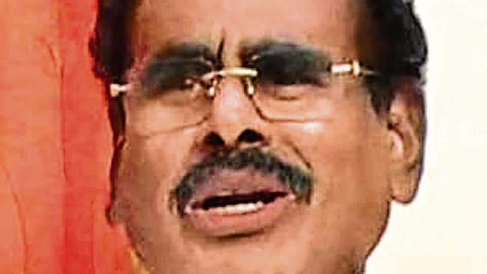 Sasikala's husband M Natarajan.