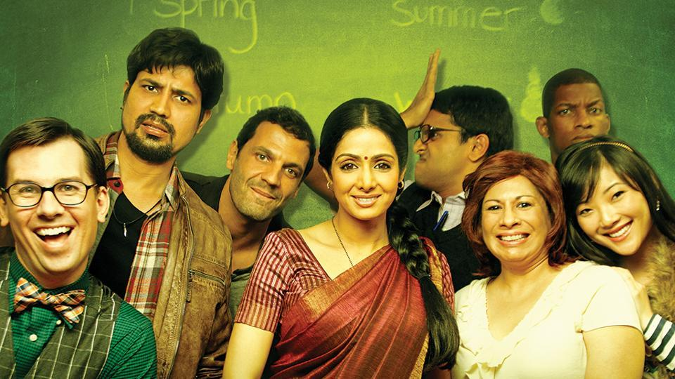 Sridevi,English Vinglish,Adil hussain