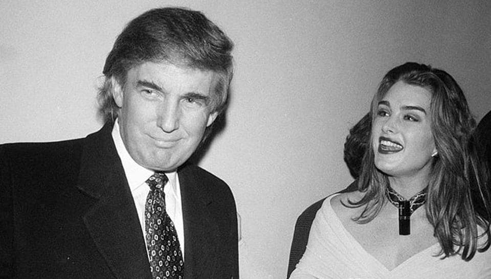 Brooke Shields and Donald Trump met in 1992.