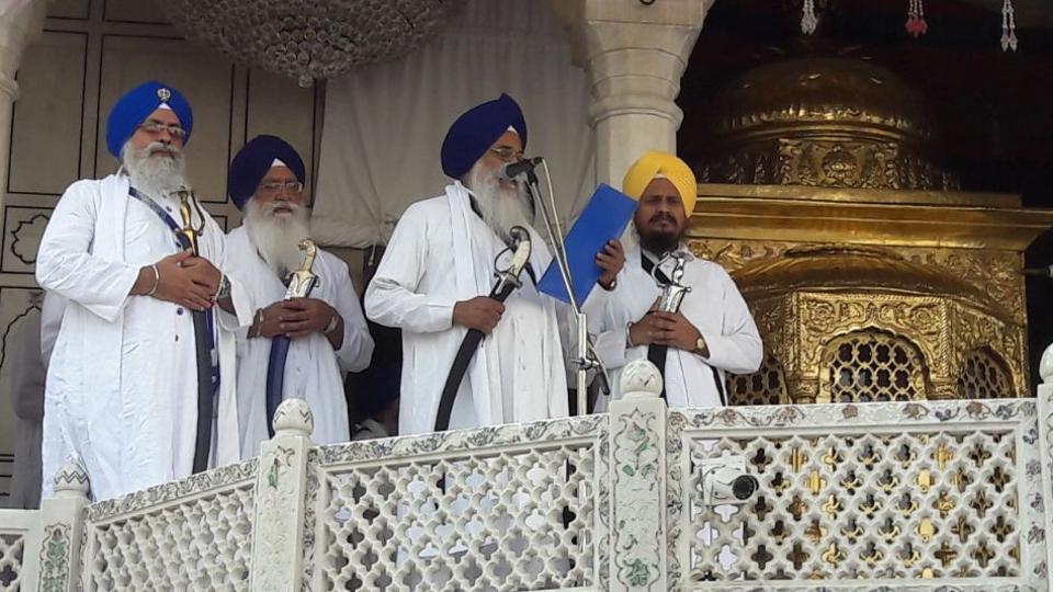 Akal Takht,Akali leader,Sucha Singh Langah