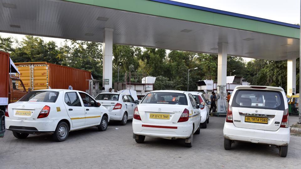 CNG Gurgaon,CNG Gurugram,Gurgaon traffic