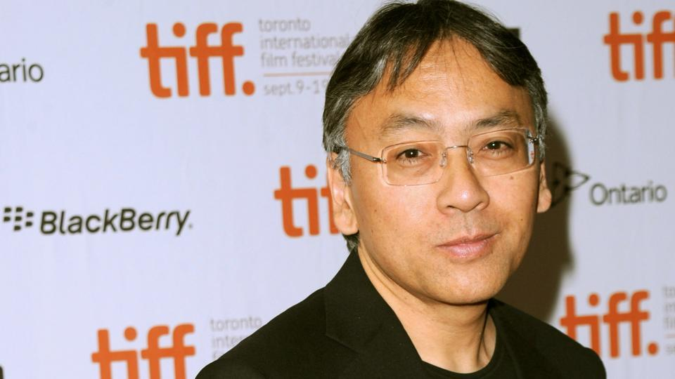 Kazuo Ishiguro at the premiere of Never Let Me Go in 2010.