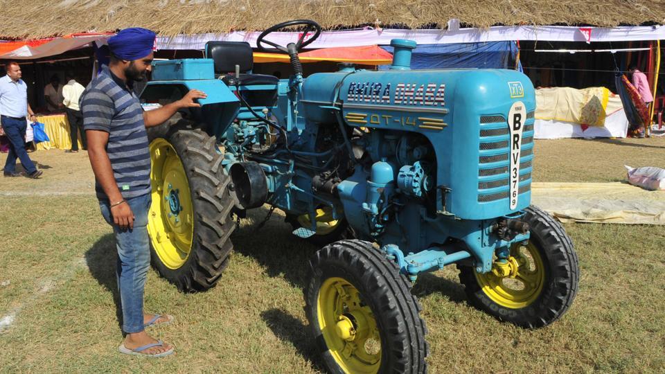 Vintage tractors,Ludhiana news,Russian tractors