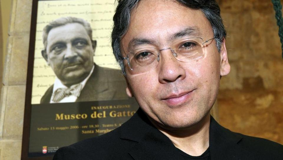 Author Kazuo Ishiguro in Sicily. The Nobel Prize for Literature for 2017 has been awarded to the British novelist.