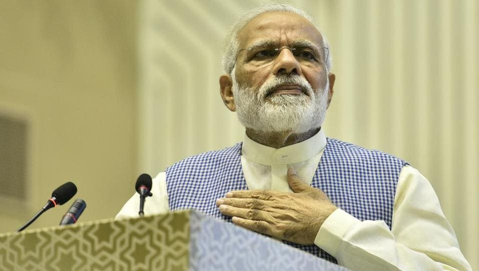 Prime Minister Narendra Modi today slammed his critics during his speech at the Golden Jubilee Year celebrations of Institute of Company Secretaries of India, at Vigyan Bhavan in New Delhi.