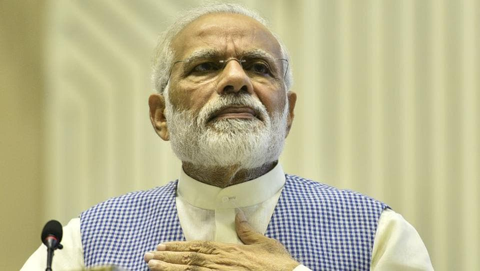 Prime Minister Narendra Modi was addressing people associated with the Umiya Sansthan, a socio-religious organisation, in Haridwar through video conference on the inauguration of Ma Umiya Dham Ashram on Thursday.