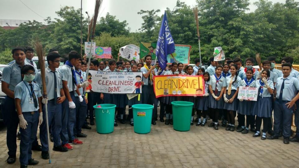 Swachhta index,schools,GB Nagar