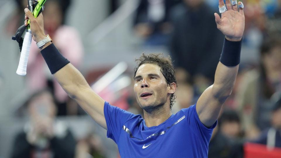 Rafael Nadal, who recently won the US Open to secure his 16th Grand Slam title, entered the quarter-final of the China Open with a 6-3,6-3 win over Karen Khachanov.