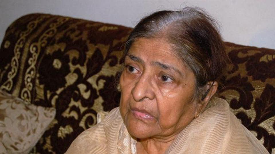 Zakia Jafri, the widow of former Congress leader Ehsan Jafri, who was killed in the Gulbarg massacre during 2002 riots in Gujarat.