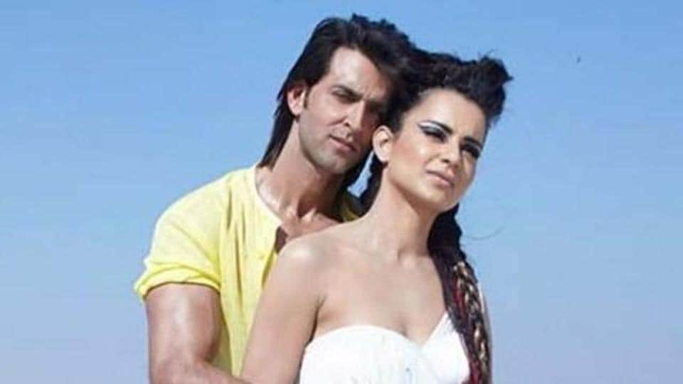 Kangana Ranaut and Hrithik Roshan have worked in two films together -- Kites and Krrish 3.