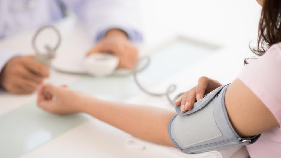 High blood pressure in early adulthood or during the 30s was not associated with increased risk of dementia.