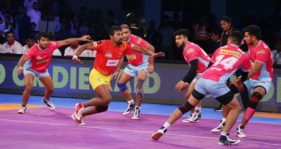 Pro Kabaddi League,Gujarat Fortunegiants,Jaipur Pink Panthers