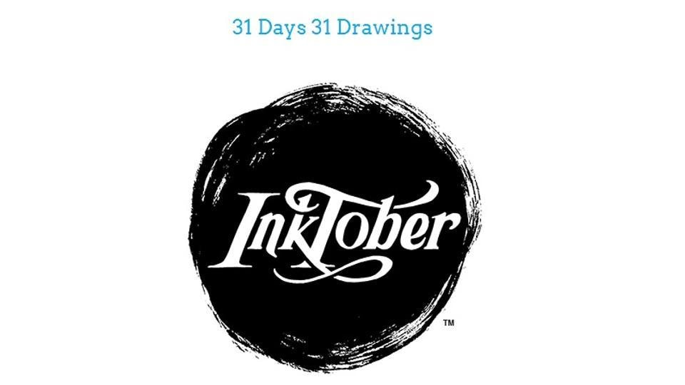 The Inktober art challenge has now developed into a worldwide event with hundreds of participants.