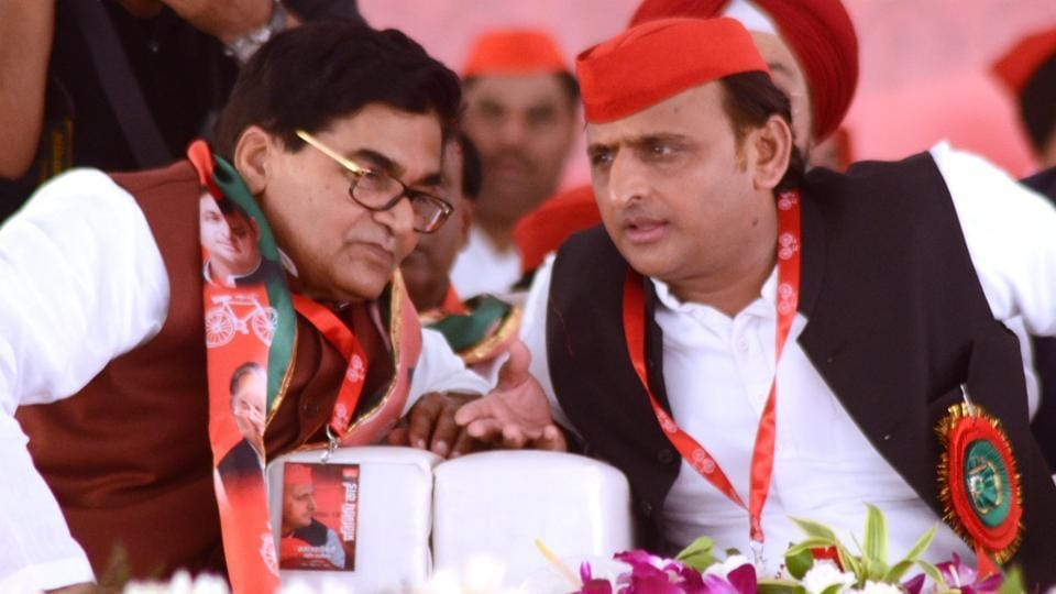 """""""There is no family feud within the party now. And if there is any, it will be outside the party and will not have any bearing on the SP's agenda."""""""