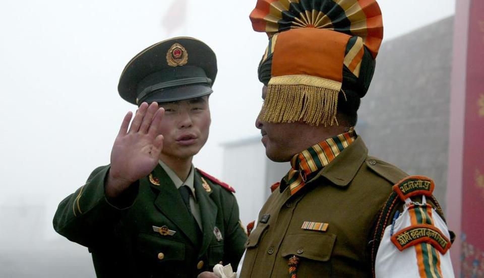 India,China,Sikkim