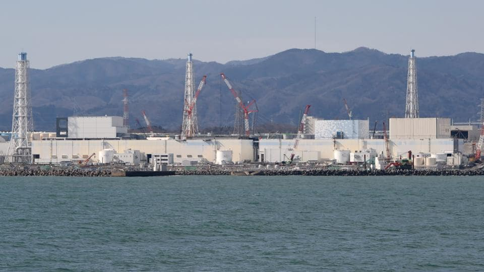This file photo shows the Fukushima Daiichi nuclear power plant in northeastern Japan.