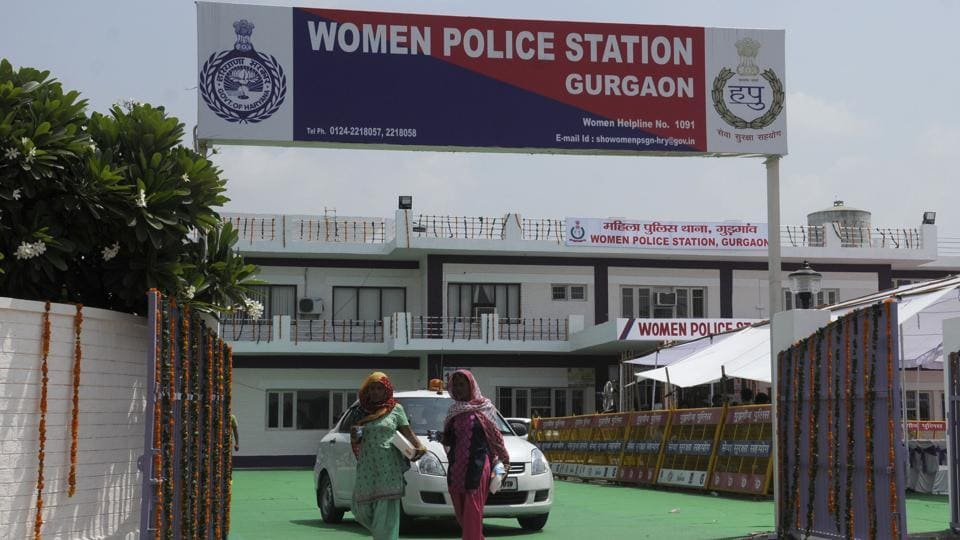 Women Police Station at Sector-51, in Gurgaon.