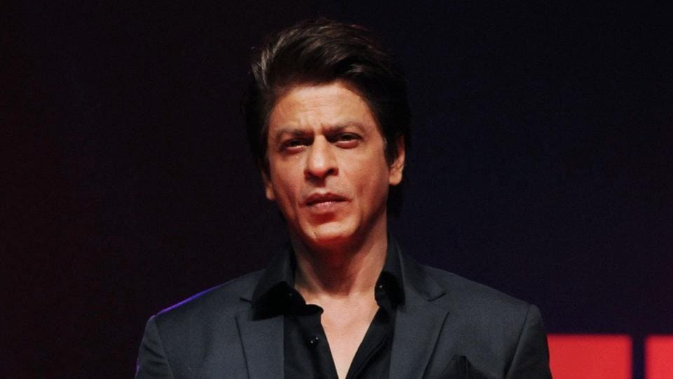 Shah Rukh khan during the launch of the television show TED Talks India: Nayi Soch in Mumbai on October 5.
