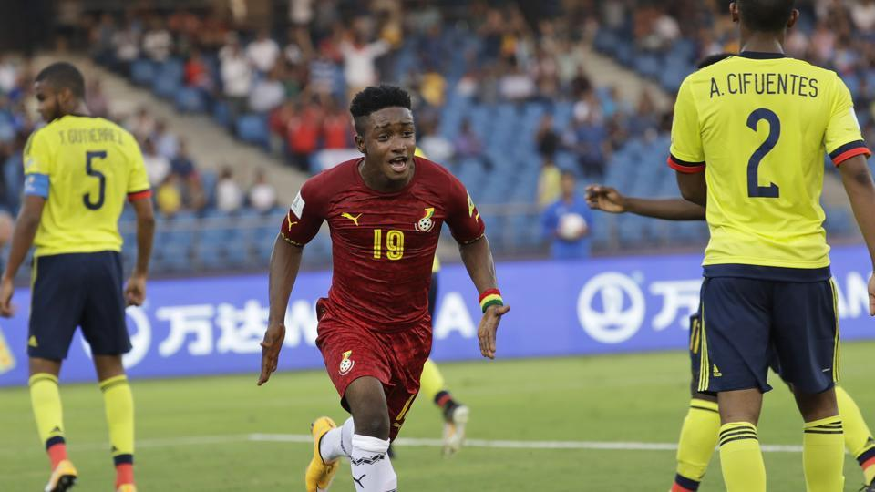 Sadiq Ibrahim scored a goal for Ghana as they started their FIFA U-17 World Cup campaign on a bright note with a 1-0 win over Colombia.