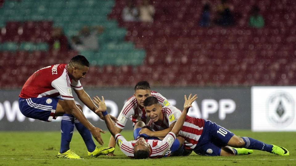 A successful penalty strike in the second half helped Paraguay beat Mali 3-2 in an engaging FIFA U-17 World Cup Group B game on Friday.