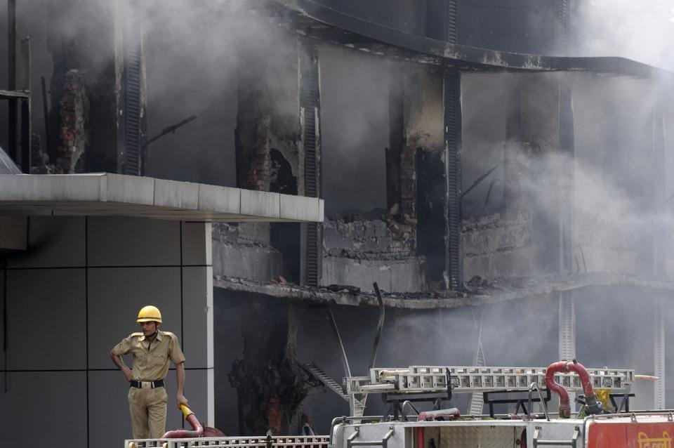 The body was identified as that of Sundar Singh Rathore, who worked in the factory's packaging department. More than 100 workers were rushed to safety on the day of the accident, but Rathore was caught in the fire, police said.
