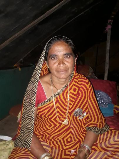Waste collection worker Lata Chavan.