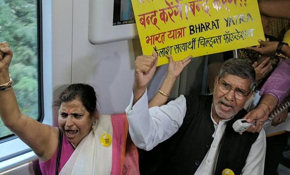 A writer shares her experience of a metro ride with Kailash Satyarthi