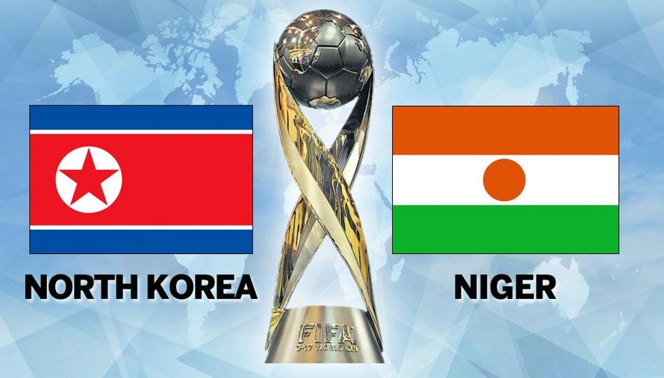 North Korea were beaten 1-0 by debutants Niger in their FIFA U-17 World Cup group D match in Kochi. Follow live football score and live updates of North Korea vs Niger here.
