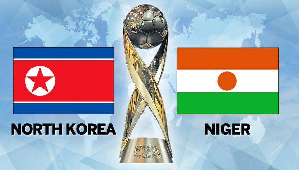 FIFA U-17 World Cup,North Korea vs Niger,Live score
