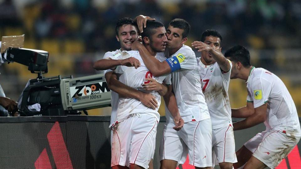 Iran defeated Guinea in their Group C encounter at the FIFAU-17 World Cup.