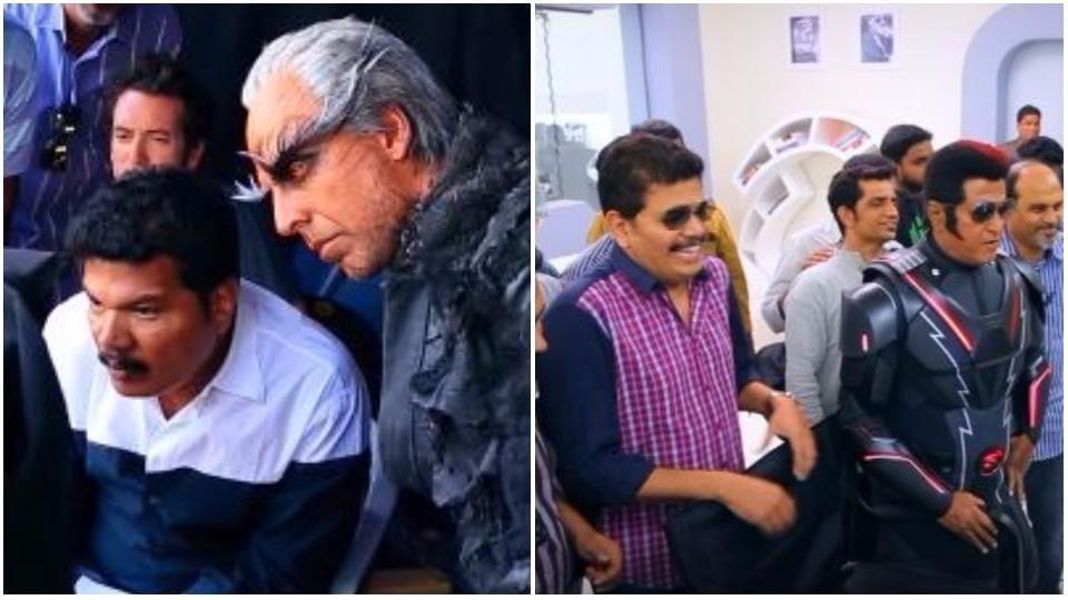 Rajinikanth,Shankar,Rajinikanth 2.0
