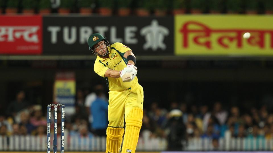 Aaron Finch looked in great touch and tackled the spinners well.  (BCCI)