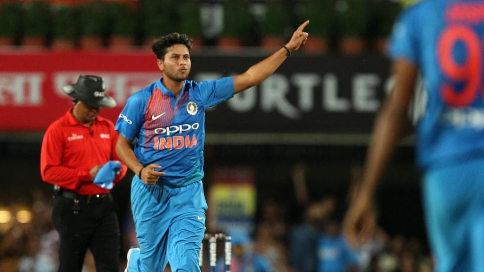 Kuldeep Yadav picked up two wickets and he was well supported by Yuzvendra Chahal as India continued to torment Australia by spin in the first Twenty20 International in Ranchi.