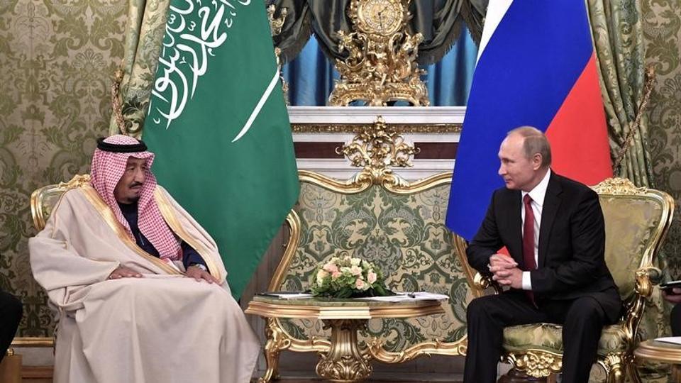 Vladimir Putin,King Salman,Saudi Arabia
