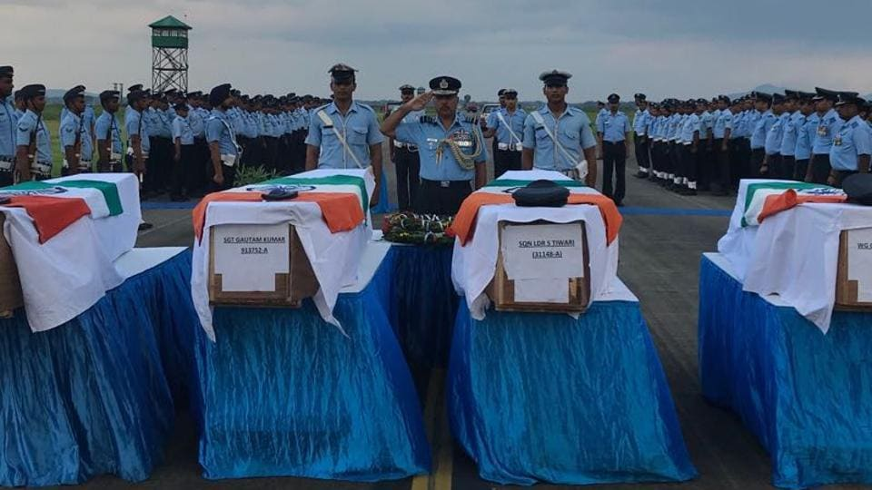 The Army's Additional Directorate General of Public Information tweeted that the carriage of the mortal remains in body bags, wooden boxes and coffins will be ensured.