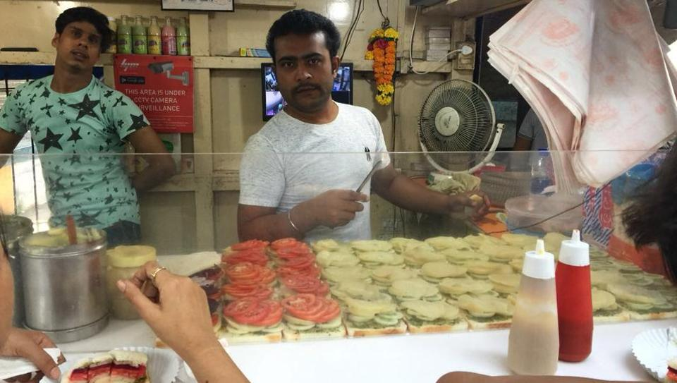 One Aarey stall has been converted into a sandwich shop.