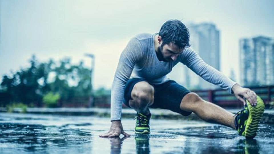 Stretch and cool down, especially when you have done a more intense, longer run.
