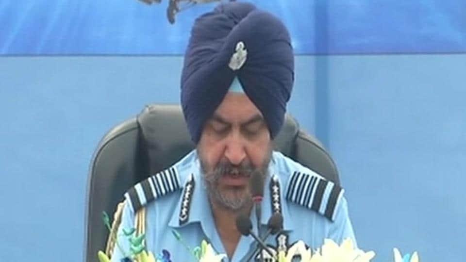 Air Chief Marshal BS Dhanoa.