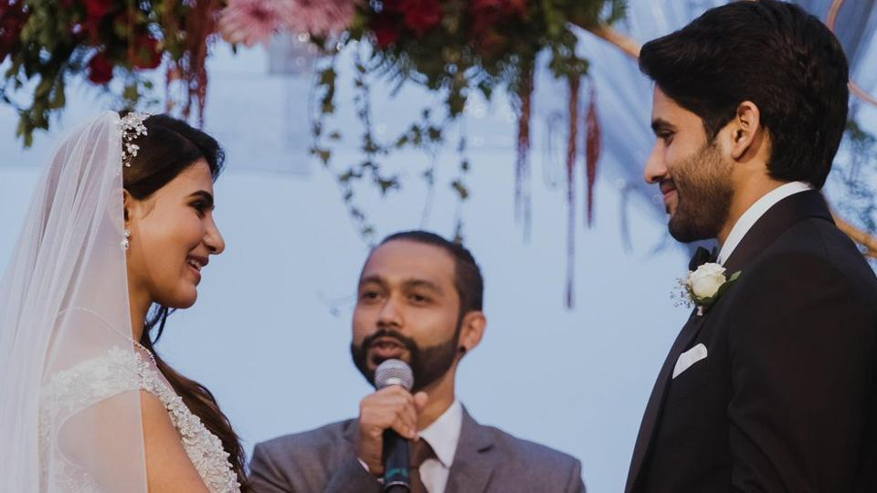 Naga Chaitanya,Samantha Ruth Prabhu,Samantha Christian wedding