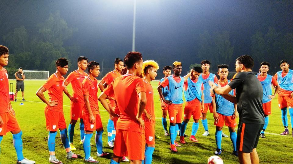 India's football team put up a gritty show against United States of America in their opening game of the FIFAU-17 World Cup and will be aiming for a good show against Colombia.