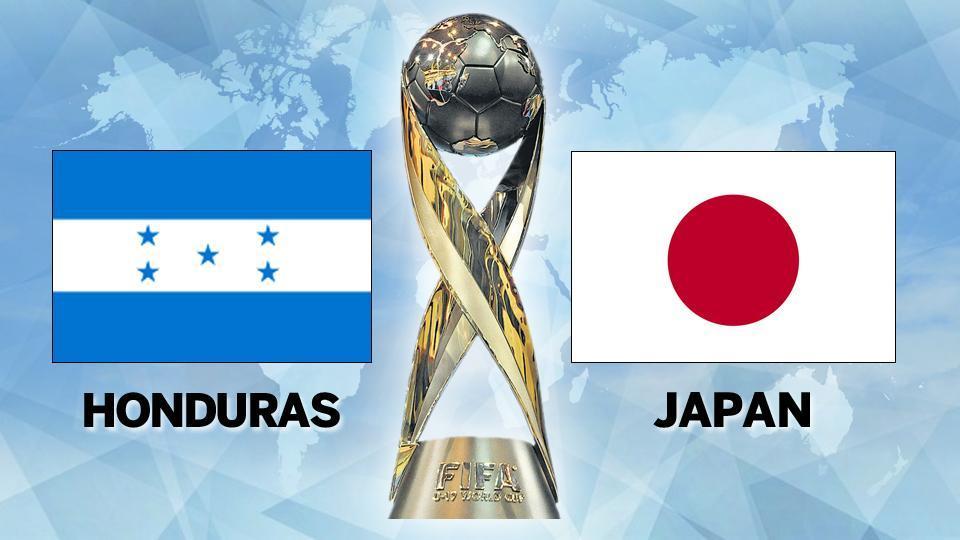 Japan outplays Honduras 6-1