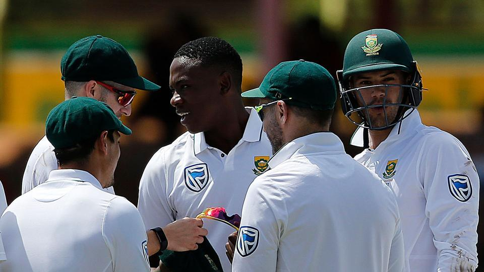 Kagiso Rabada  picked up 10 wickets in his Test career for the third time as South Africa crushed Bangladesh by an innings and 254 runs to win the series 2-0. Get full cricket score of the second Test between South Africa cricket team and Bangladesh cricket team here.