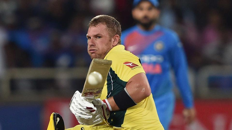 Australia cricket team's Aaron Finch was going strong against the Indian cricket team in the first T20I in Ranchi before 'brain-fade' struck him.