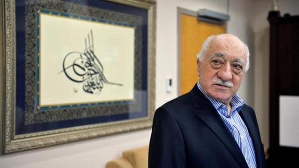 US-based cleric Fethullah Gulen in US in July 2016. The Amnesty activists are also being charged for alleged links to Gulen, who is accused of orchestrating last year's coup.