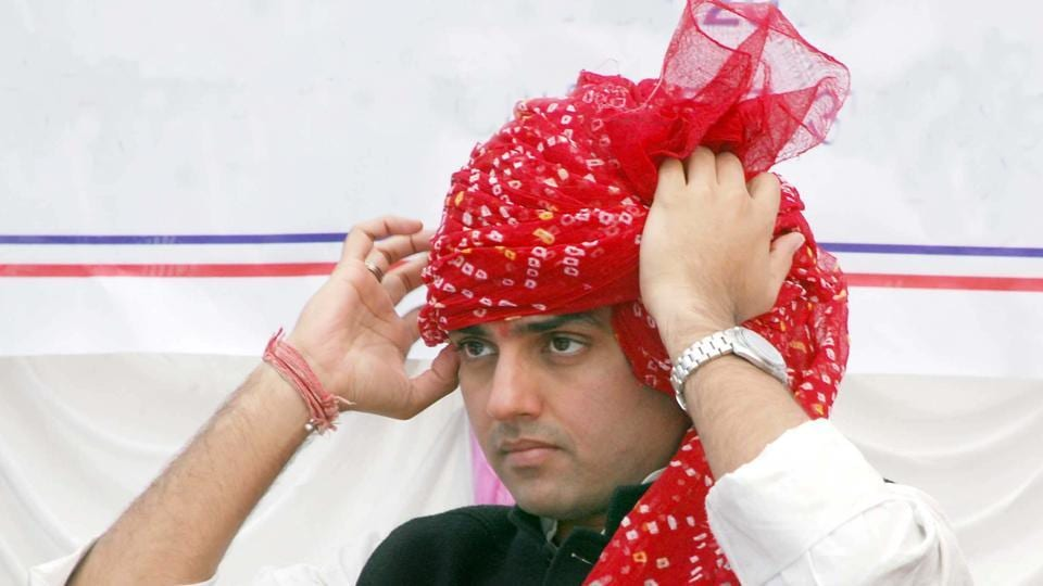 """Sachin Pilot claims that he is """"very fast"""" in tying turban and has done so within 7 seconds in the past."""