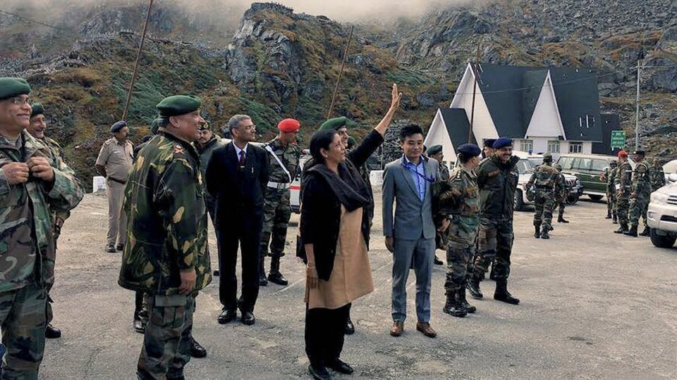Nirmala Sitharaman,Nathu La pass,China