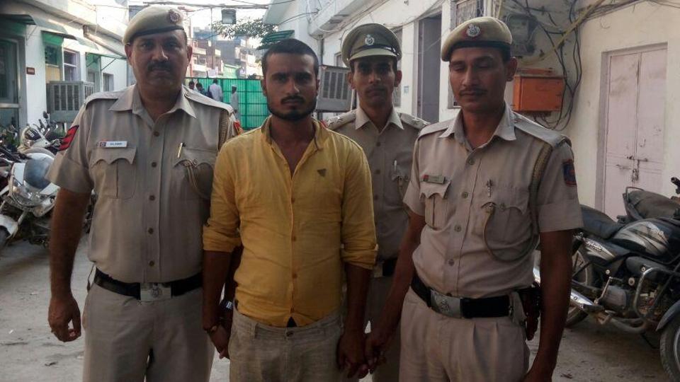 Ravi Singh, alias Tinku, was arrested from his village in Muzaffarnagar after Madhuri identified him as her attacker.