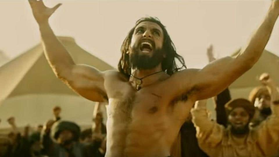 Padmavati,Trailer,Ranveer Singh