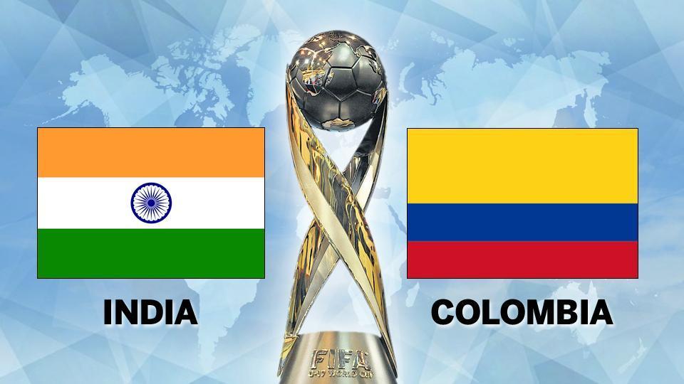 FIFA U-17 World Cup,FIFA U-17 World Cup 2017,India vs Colombia