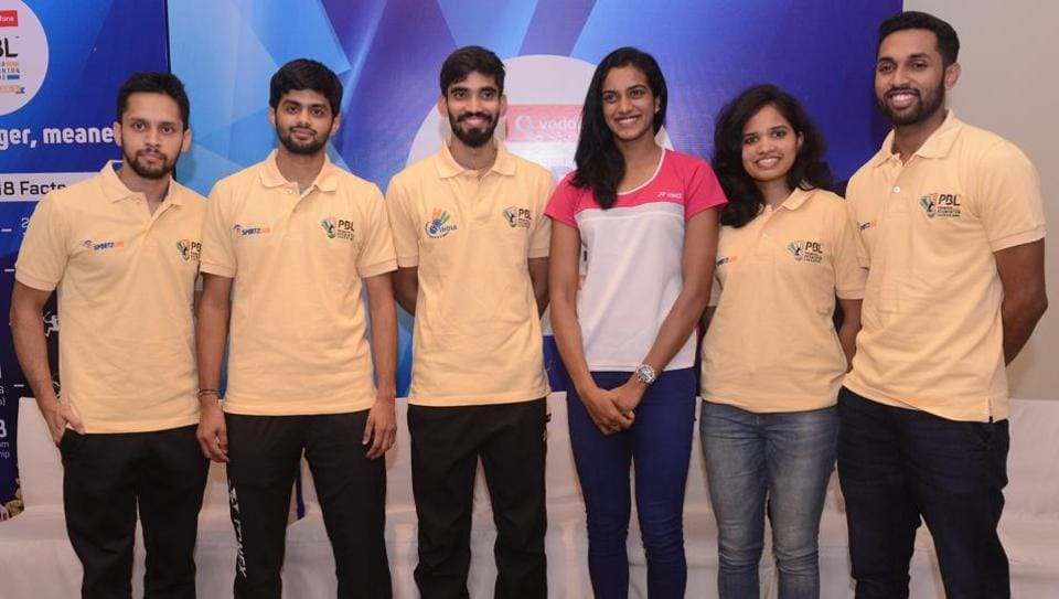 Premier Badminton League,badminton,HS Prannoy